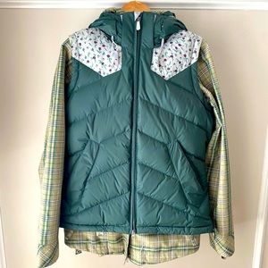Nike Snowboarding 2 in 1 Jacket and Vest